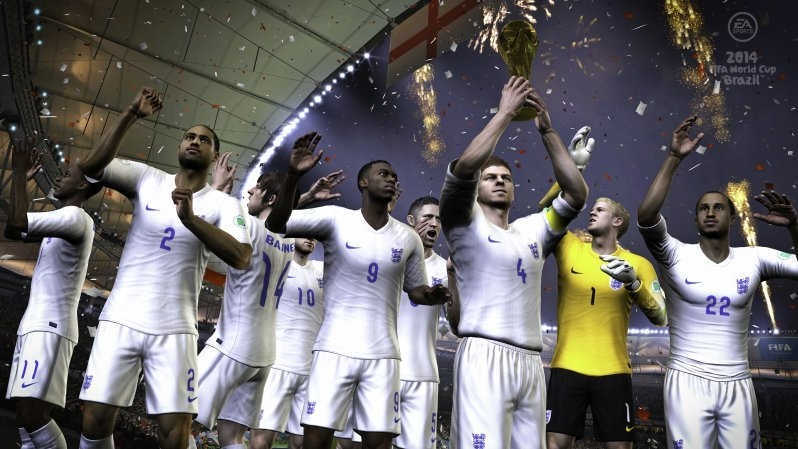England Lift the World Cup on St George's Day