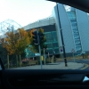 Driving past Old Trafford
