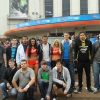 Grand Finalists before entering Earls Court (c) Virgin Gaming - Football