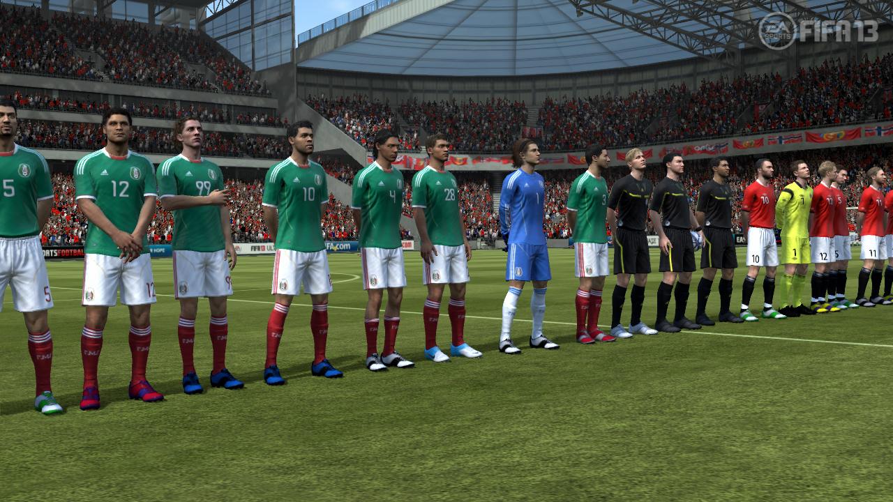 FIFA 13 Career Mode   International Friendly