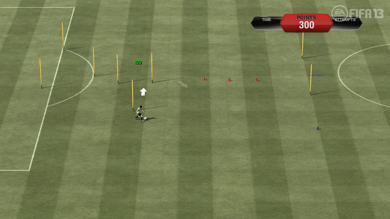 FIFA 13 Skill Games | Dribbling