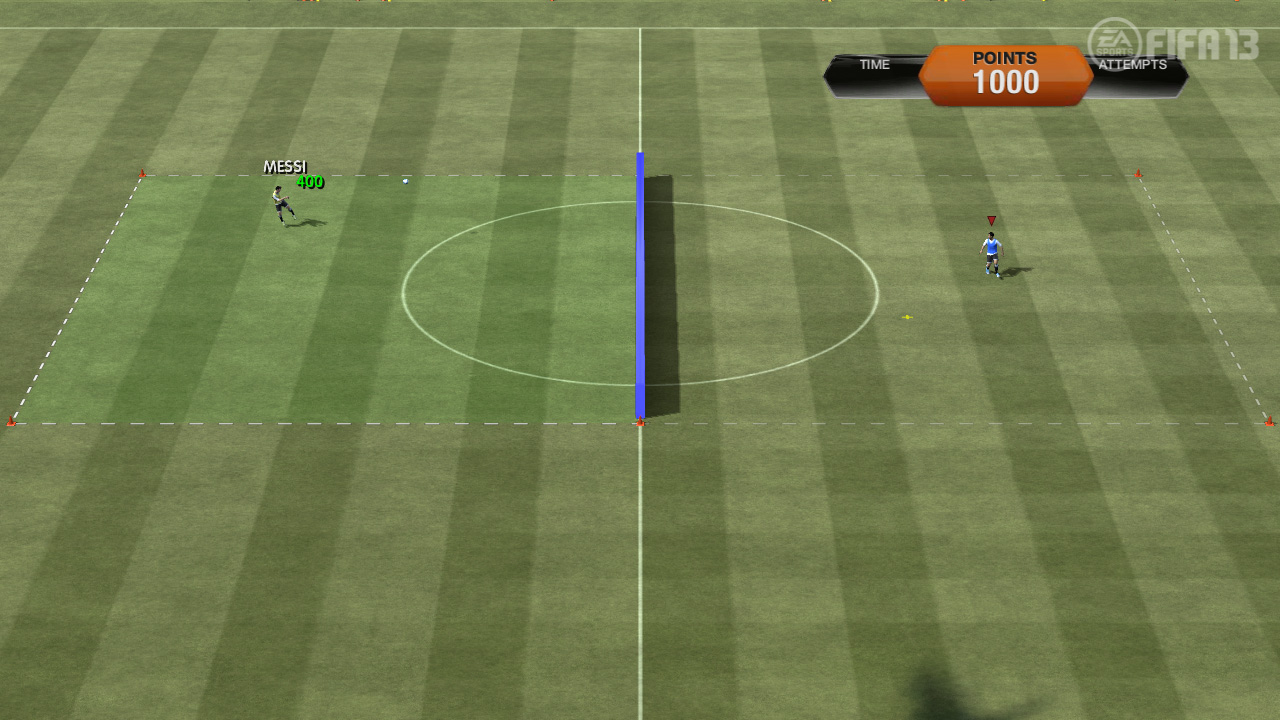 FIFA 13 Skill Games | Volley