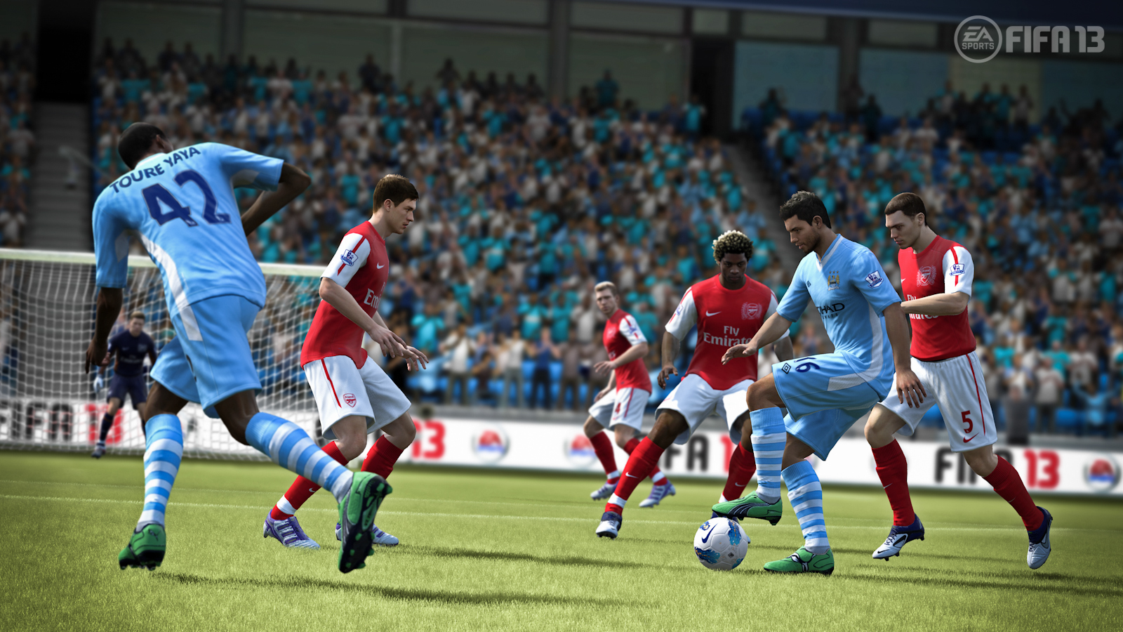 FIFA 13 | Aguero, Complete Dribbling