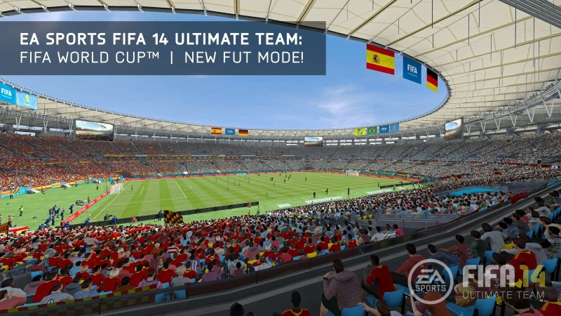 FIFA 14 Ultimate Team: World Cup | Stadium