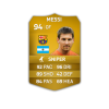 FIFA 14 Ultimate Team | Messi Gold Card