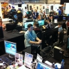 UK FIFA Community Manager Rob Hodson getting involved with our FIFA 12 Pro Clubs Pilot day at insomnia46