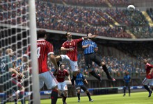 Pazzini rises highest for his header in Inter v AC Milan derby