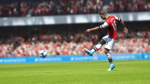 FIFA 13 | Arsenal's Oxlade Chamberlain is on the ball