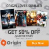 Get 50% off with Origin Loves Summer