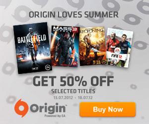 Get 50% off with Origin Loves Summer