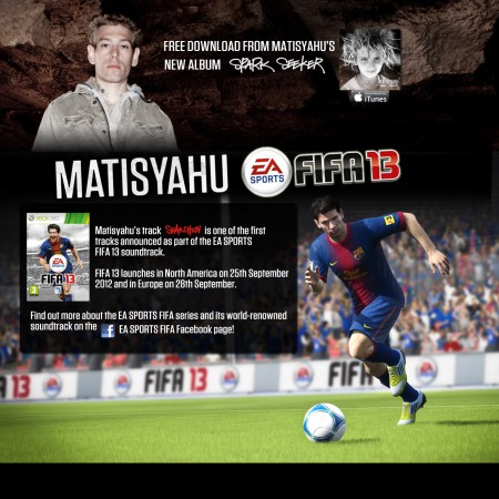 Matisyahu - FIFA 13 - Free Download Offer
