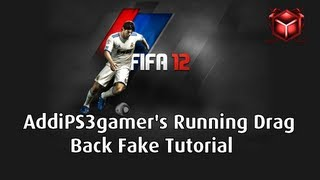FIFA 12 Tutorial | Running Dragback Fake
