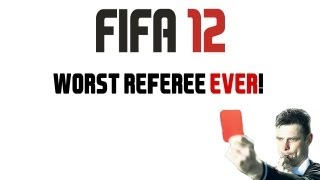 MattHDGamer suffers at the hands of a FIFA 12 referee