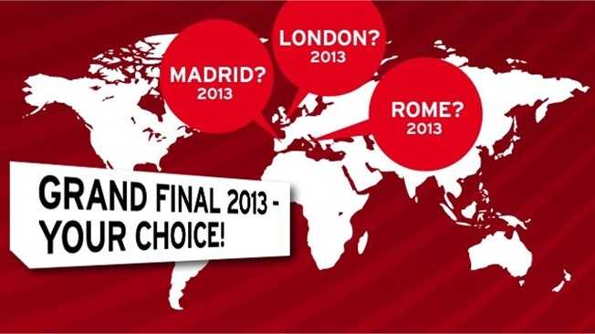 London, Rome or Madrid, which city do you want to see host the FIFA Interactive World Cup 2013 Grand Final? For the first time in the history of the FIFA Interactive World Cup, virtual football fans will decide the host city for the tournament showpiece.