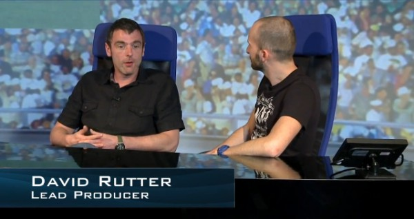 David Rutter talks FIFA 13 with Matt on the EA SPORTS News desk.