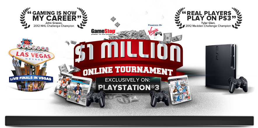 The EA SPORTS Challenge Series exclusively on PlayStation3 is back with ANOTHER $1 MILLION prize pool!