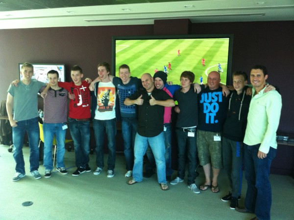 The awesome FIFA 13 Community Event Crew