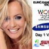 Check out our Vlog from day 1 at the Eurogamer Expo in Earls Court, London. We have an intro to the event, WCG FIFA 12 Pre-Qualifiers 5 and 6, player interviews, Nepentez, Calfreezy and not forgetting Pollyanna Woodward...