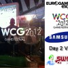 Check out our Vlog from day 2 at the Eurogamer Expo in Earls Court, London. We have a tour of the event, WCG FIFA 12 Pre-Qualifiers 7 and 8, player interviews, give-aways and plenty more...