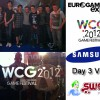 Check out our Vlog from day 3 at the Eurogamer Expo in Earls Court, London. We have the WCG FIFA 12 Pre-Qualifiers 9 and 10, player interviews, give-aways a massive FIFA YouTuber's meetup and plenty more...