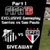 FIFA 13 FULL MATCH Santos vs P. Sao Paulo (#wepeelerarmy)