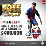 Virgin Gaming | FREE Entry Into the $400,000 FIFA 13 Challenge Series