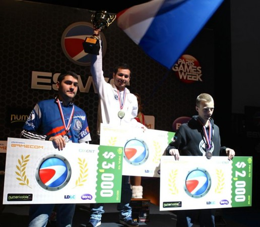 Bruce Grannec from France is this year's Electronic Sports World Cup FIFA 13 Champion