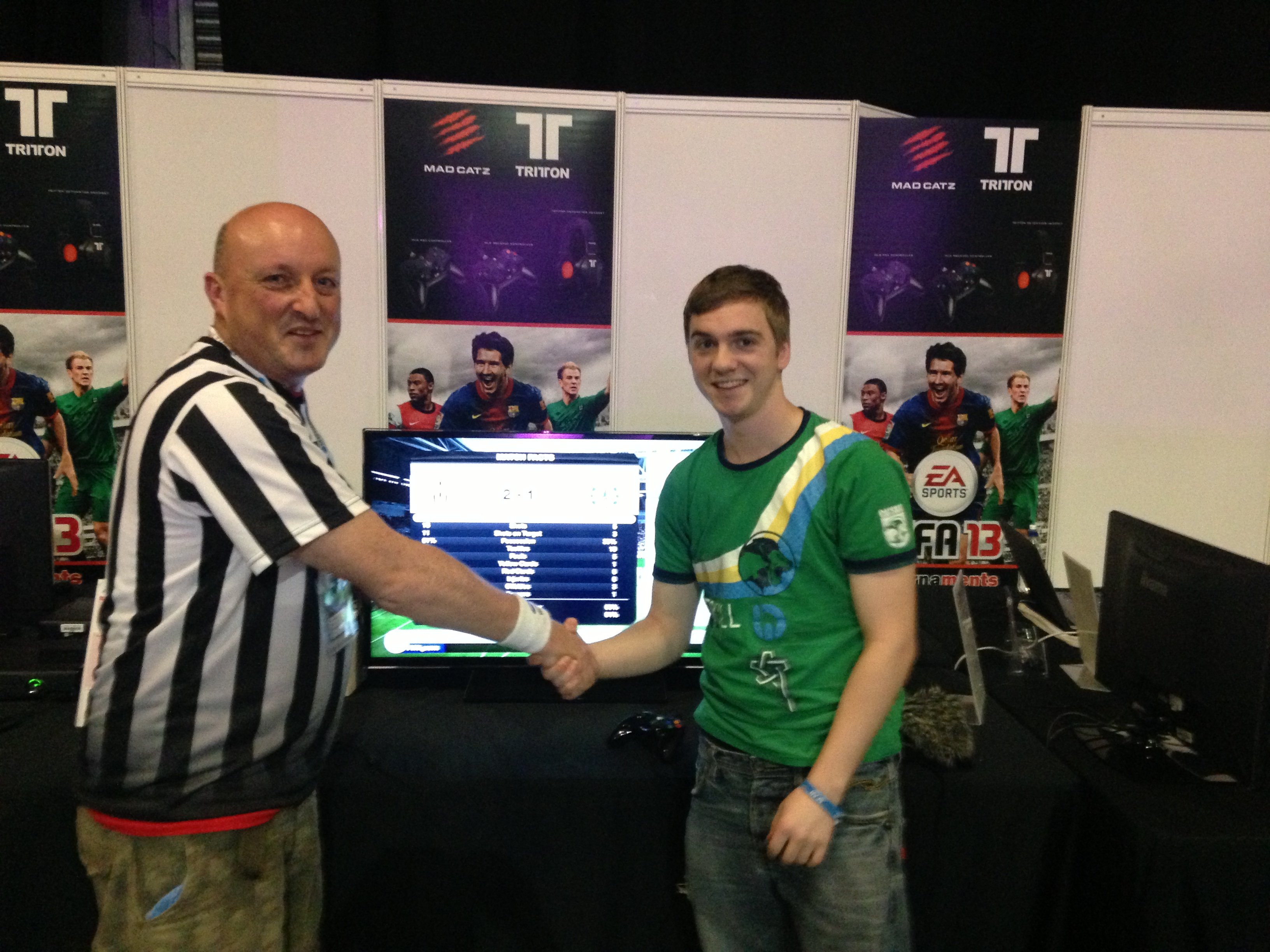 Congratulations to Joshua Wragg who is our FIFA 13 1 v 1 Fun Xbox Tournament Champion