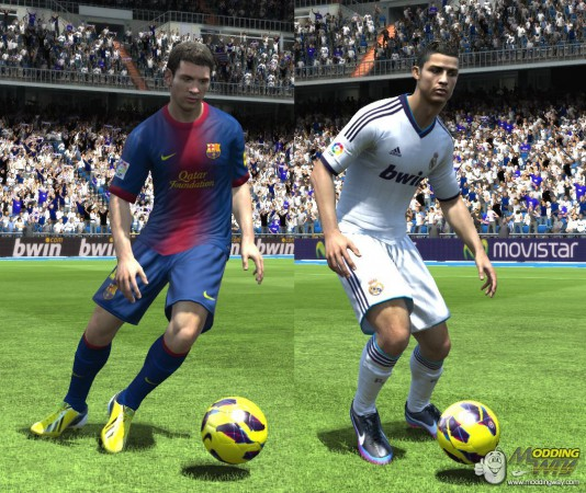 Our partners over at ModdingWay.com have released version 0.9.5 of their FIFA 13 ModdingWay Mod for your PC