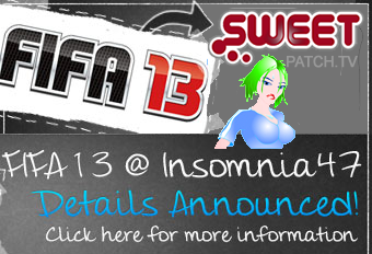 Come and get involved in some footie action on all 4 days of Insomnia47 with your Sweetpatch.TV crew who are your hosts & tournament admins!