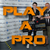 Play a Pro series Logo - Dave i46 background