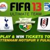 Play Ultimate Team with Dream Draw and Win VIP Tickets to Barclays Premier League Games!