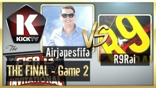 Airjapesfifa and R9rai square off in a best of three series with $10,000 on the line.