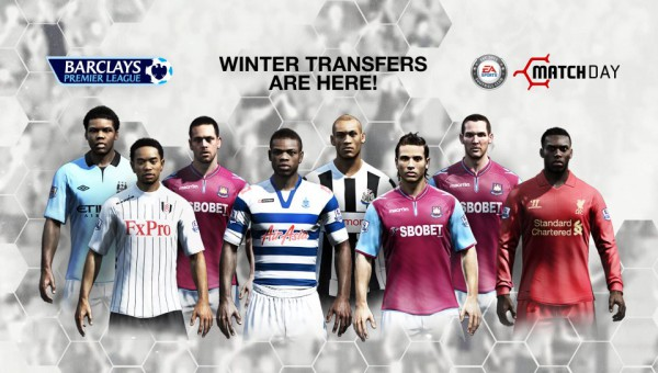 The latest Match Day update is here with new Winter Transfers!