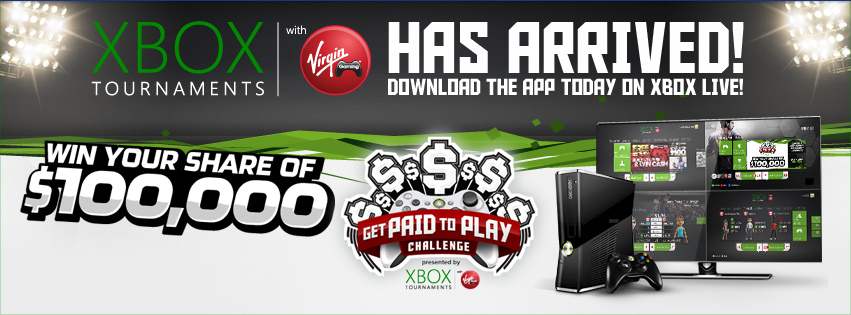 Win cash playing your favorite video games, without leaving home!