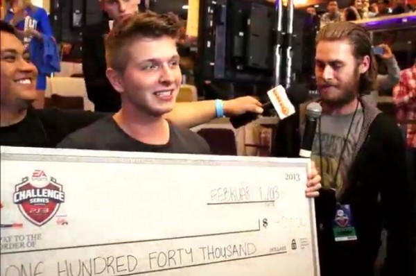 Ivan Lapanje from Sweden is the Virgin Gaming Challenge Series Champion and Wins $140,000