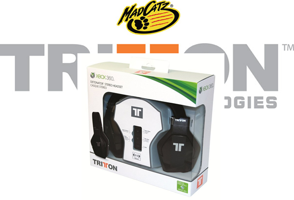 WIN a Mad Catz TRITTON Detonator Stereo Headset for Xbox 360
