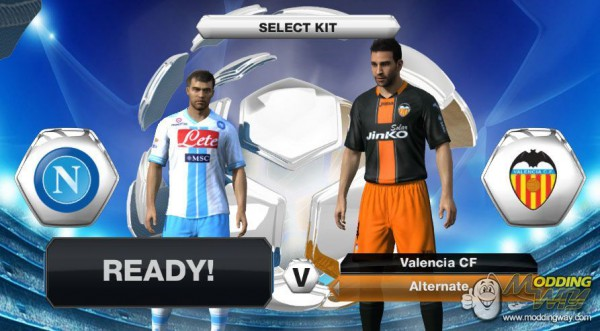 FIFA 13 ModdingWay Mod v1.7.3 Update