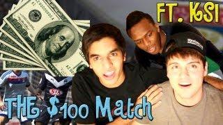 The $100 Match @michs09 vs @AmanSeddiqi FT. KSIOlajidebt