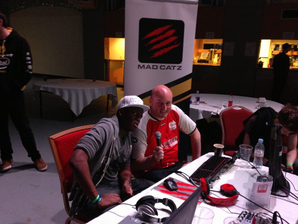 KSI and Wittser commentating on Mad Catz FIFA 13 Spring Championship