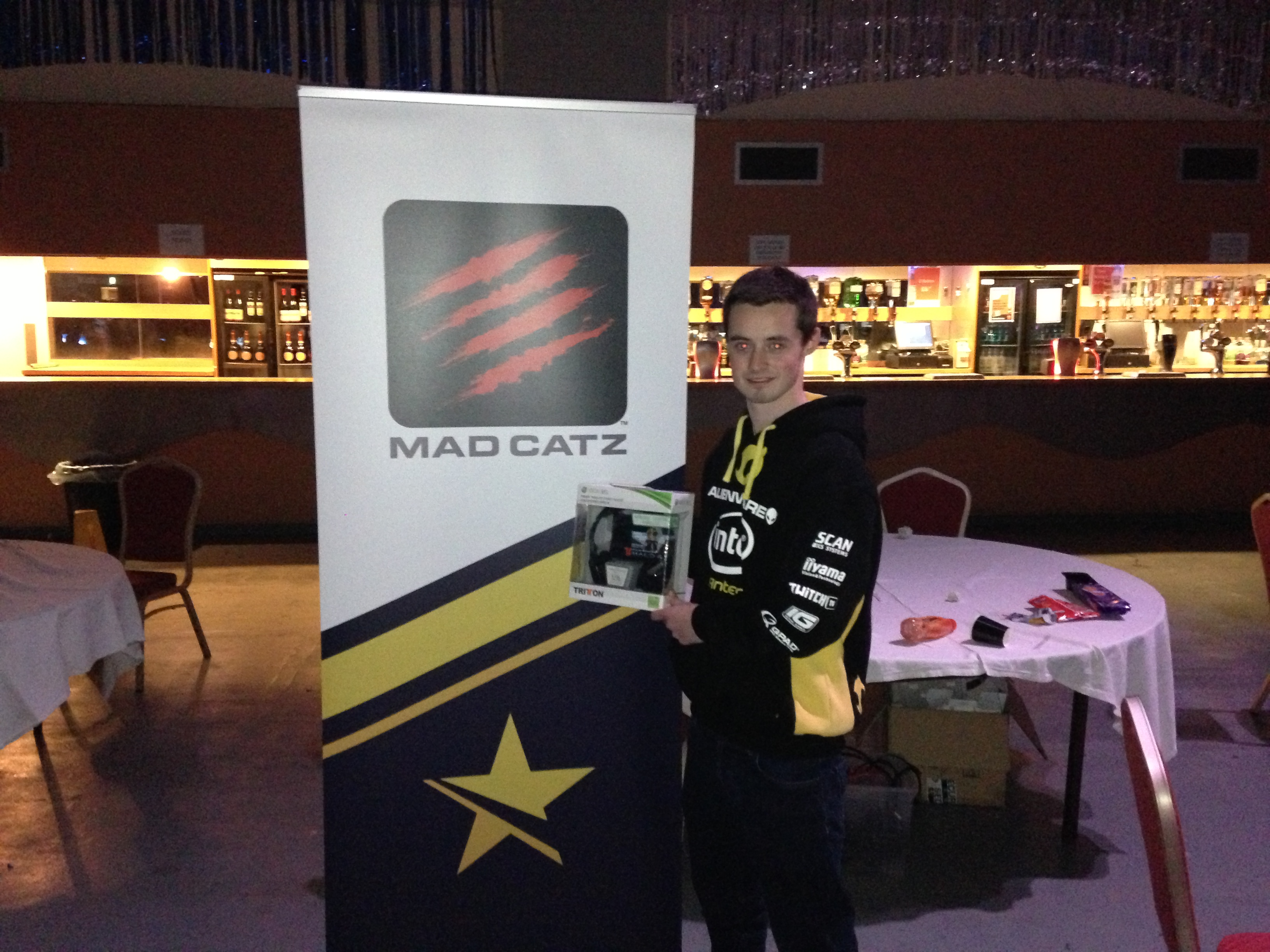 Adam Winster is the Mad Catz FIFA 13 Spring Champion