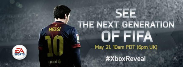 See the next generation of FIFA! Watch the #XboxReveal tomorrow on http://www.Xbox.com & @Xbox Live at 6pm UK