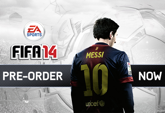 EA SPORTS™ is offering FIFA 14 Ultimate Team gold packs to fans who pre-order* FIFA 14 on the PlayStation®3 computer entertainment system, Xbox 360® videogame and entertainment system and PC.