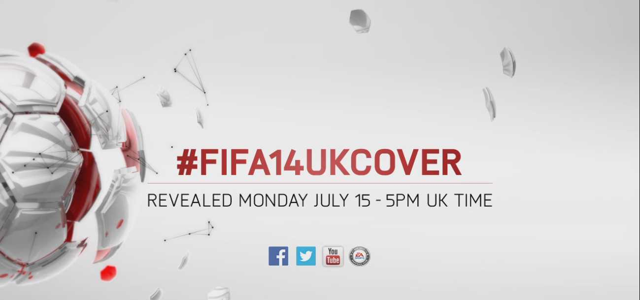 Who should join Messi on the FIFA 14 UK cover?