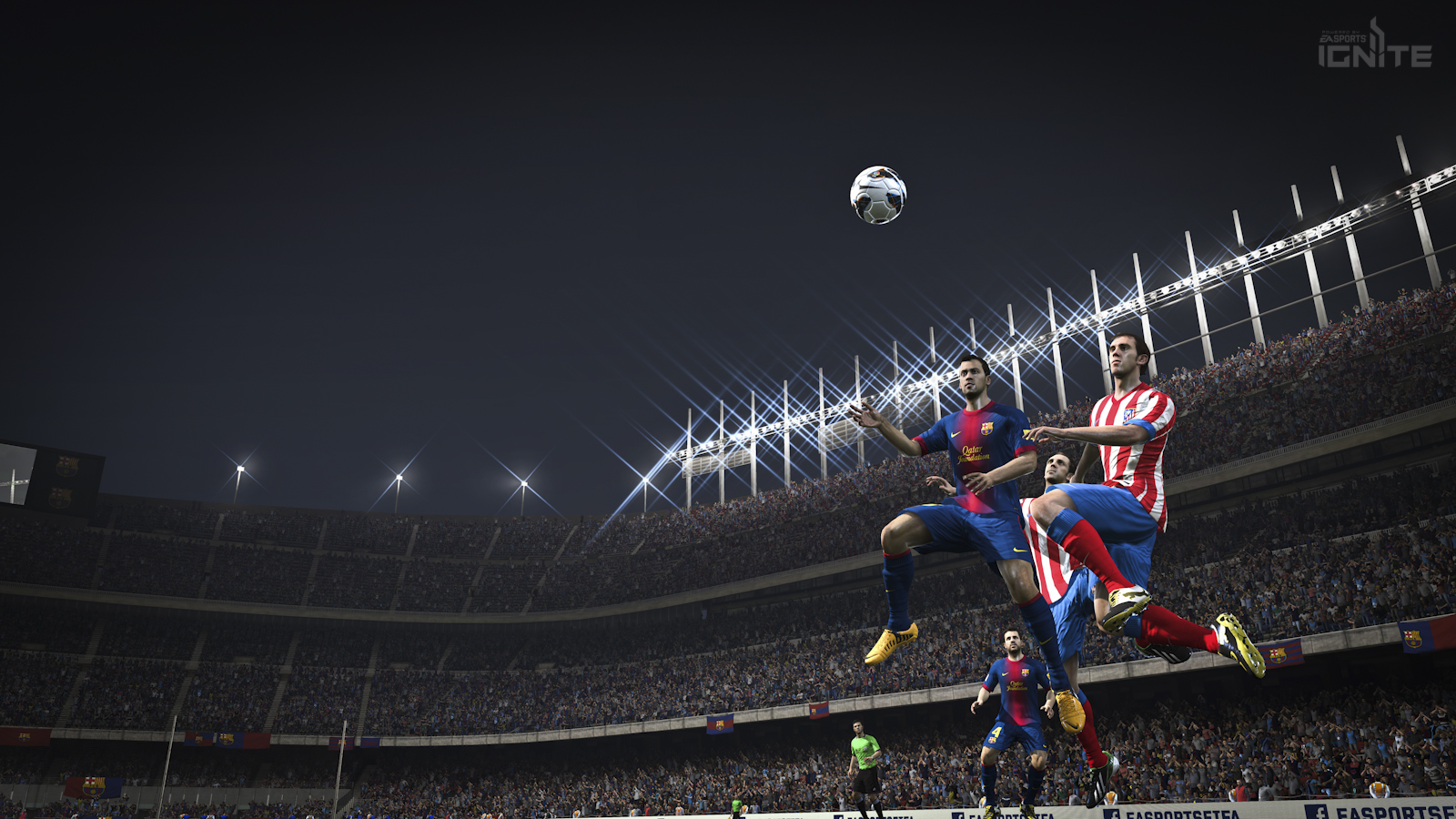 Barca heading the ball on Next Gen