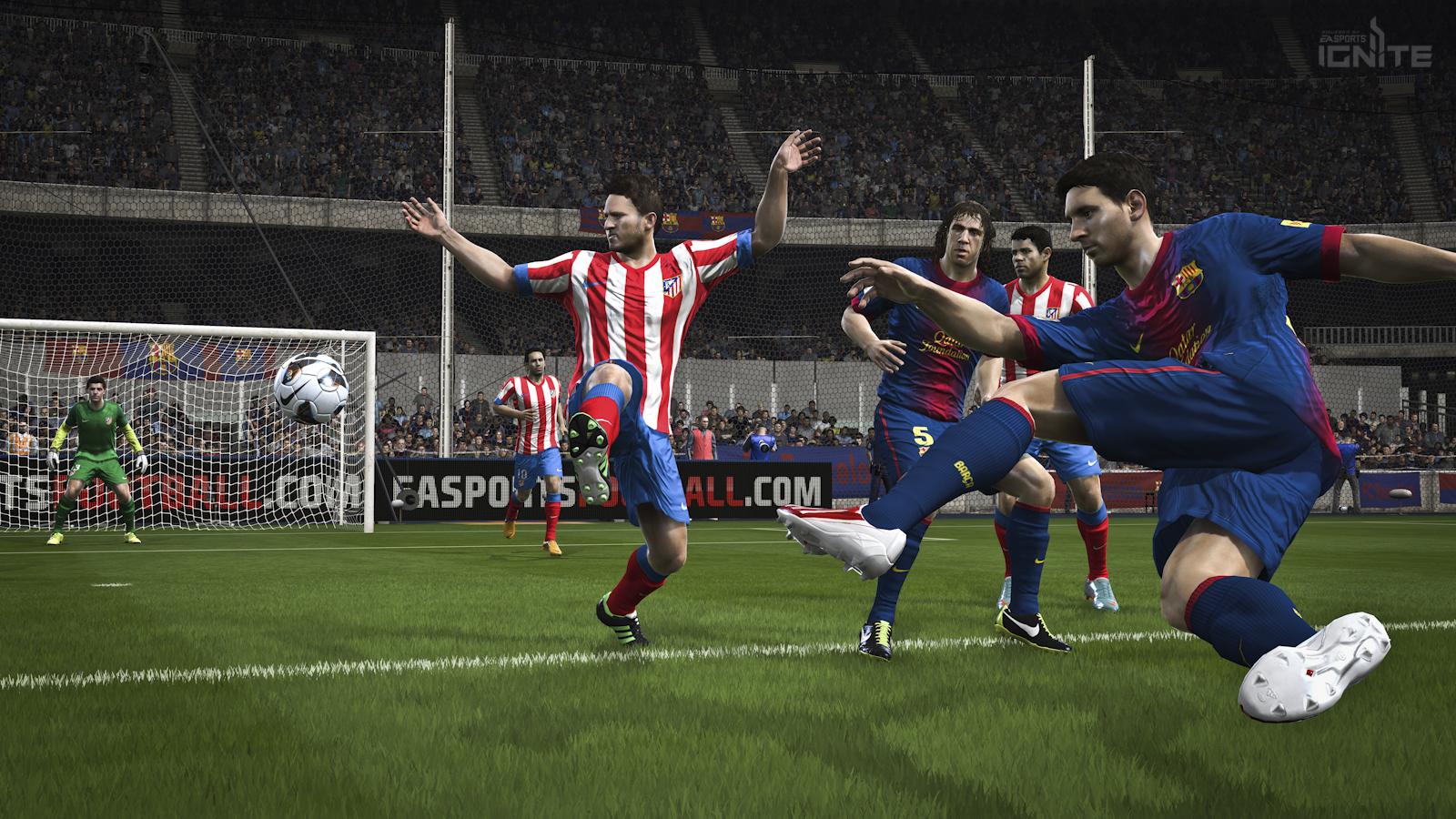 FIFA 14 | Messi Shooting on Next Gen