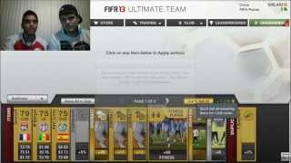 "Pack Opening on FIFA 13 Ultimate Team #33 - Looking for TOTS MESSI with Special Guest ""Dirty Mike"""