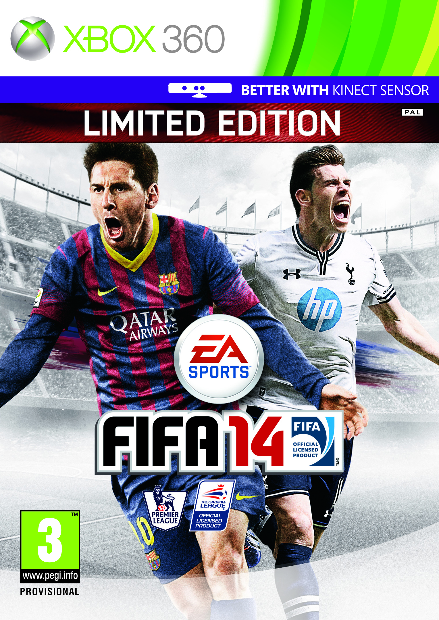 Gareth Bale FIFA 14 UK Cover Star