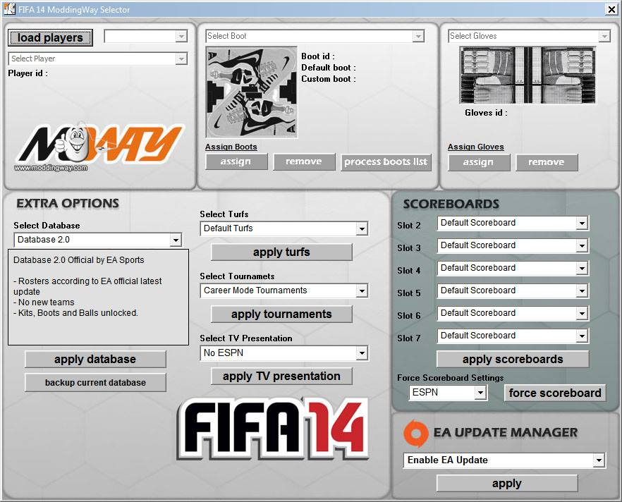 FIFA 14 | ModdingWay Mod Version 0 6 Released | Sweetpatch TV