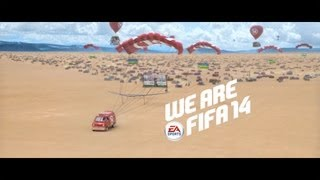 Join Messi, Bale and the rest of the FIFA team in the full length FIFA 14 TV commercial.